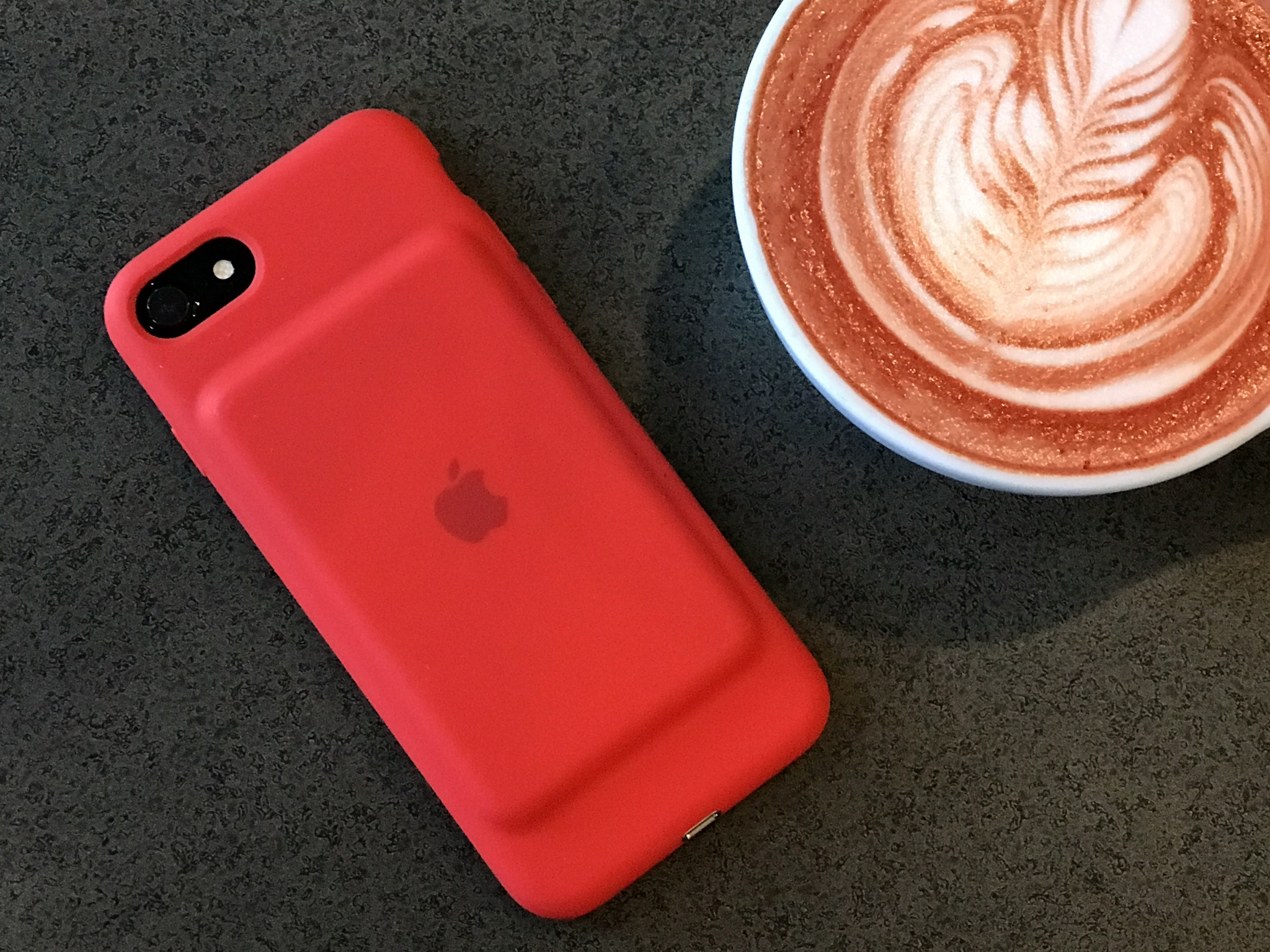 Smart Battery Case RED для iPhone