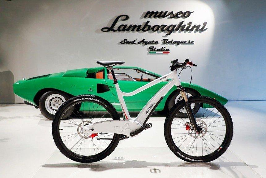 Первые электрические велосипеды Lamborghini
