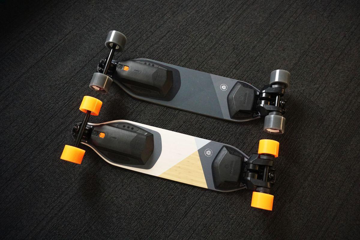 Новые электроскейтборды от Boosted