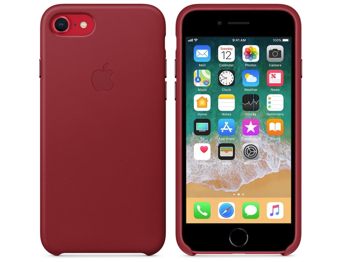 Кожаные чехлы (Product) RED iPhone 8 Plus