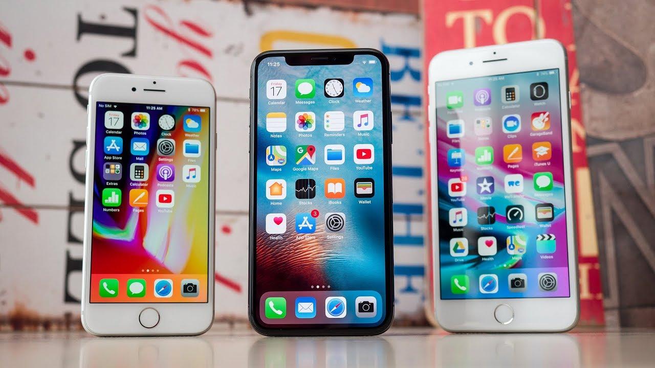 почему лучше купить iPhone 8 чем iPhone X