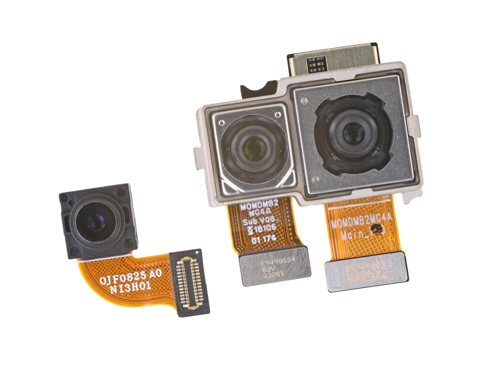 Разборка OnePlus 6 камеры