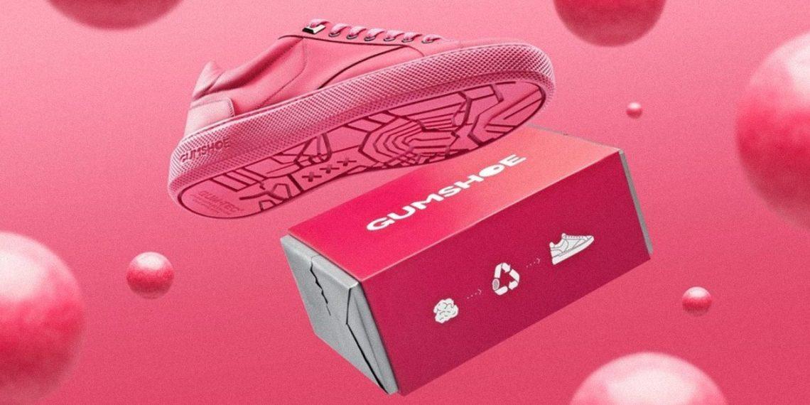 Gumshoe кроссовки из жевательной резинки