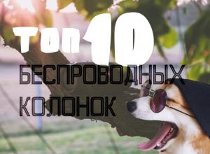 ТОП 10 беспроводных колонок 2018