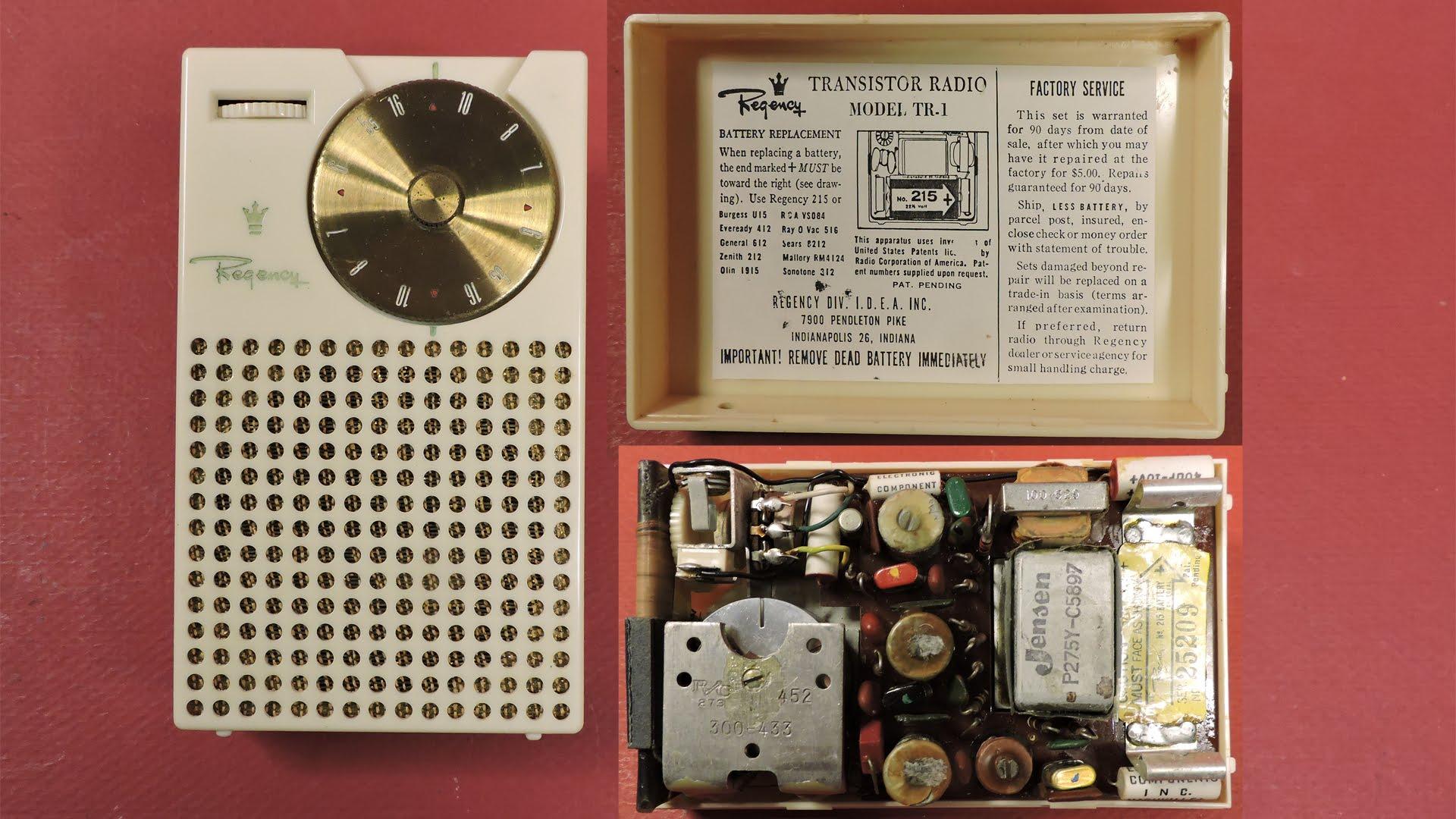 Первое карманное радио