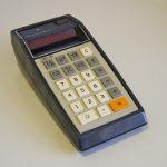 Первый многофункциональный карманный калькулятор