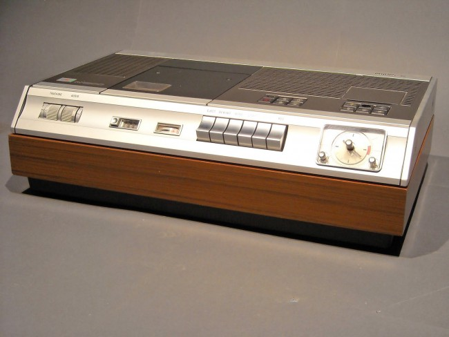 технологии второй половины 20 века: Philips N1500 VCR