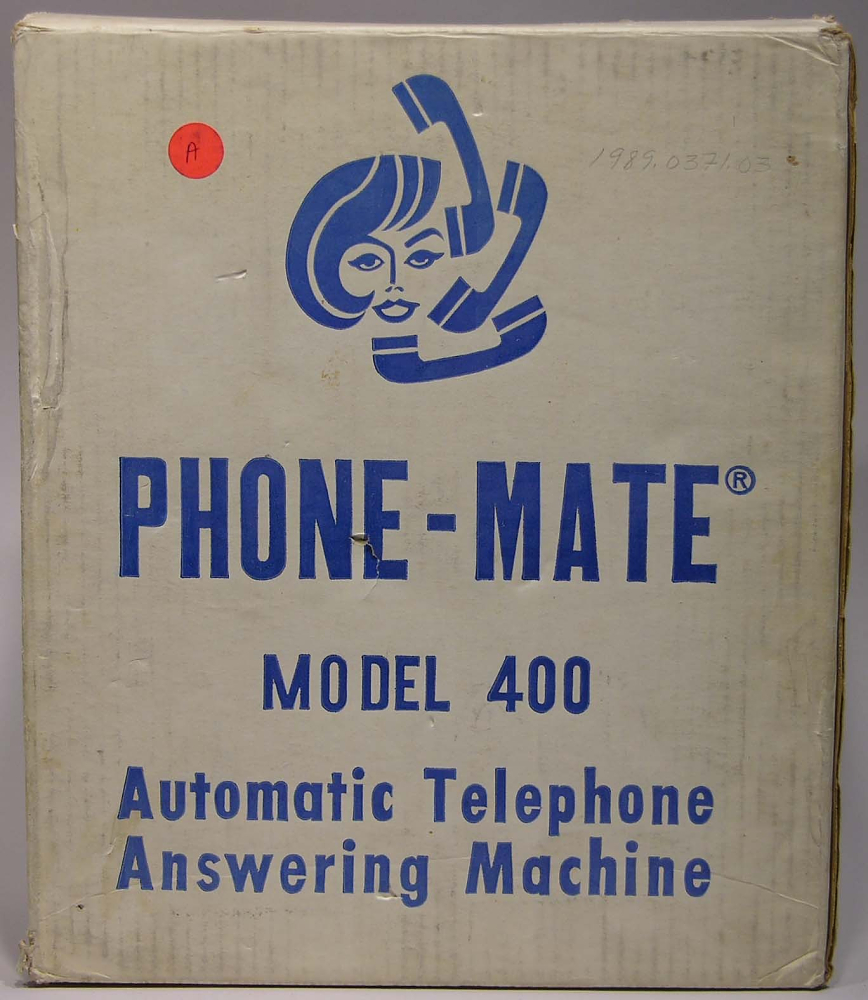 технологии второй половины 20 века: Phonemate 400