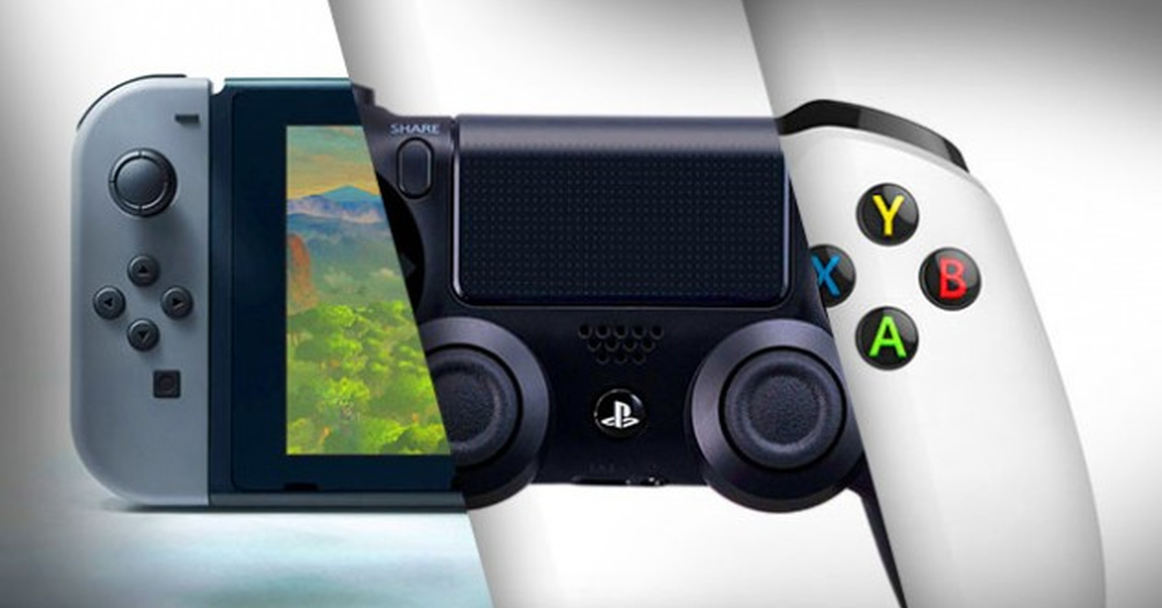 Xbox One или Nintendo Switch? Nintendo Switch или PS4?