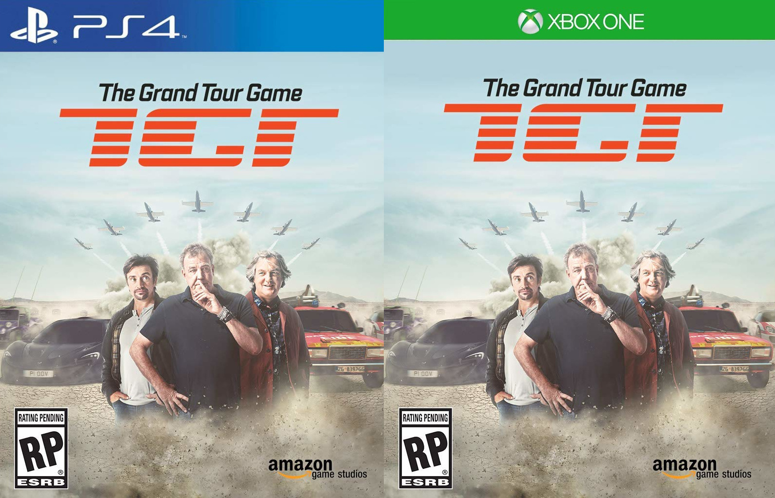 The Grand Tour Game для PS4 и Xbox One