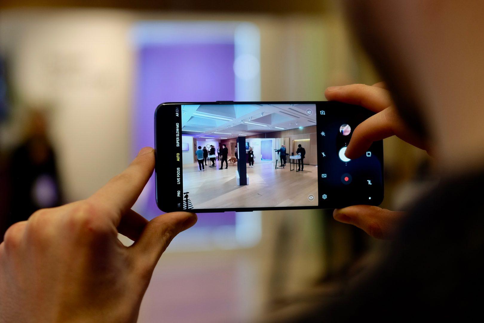 Galaxy S9 камера