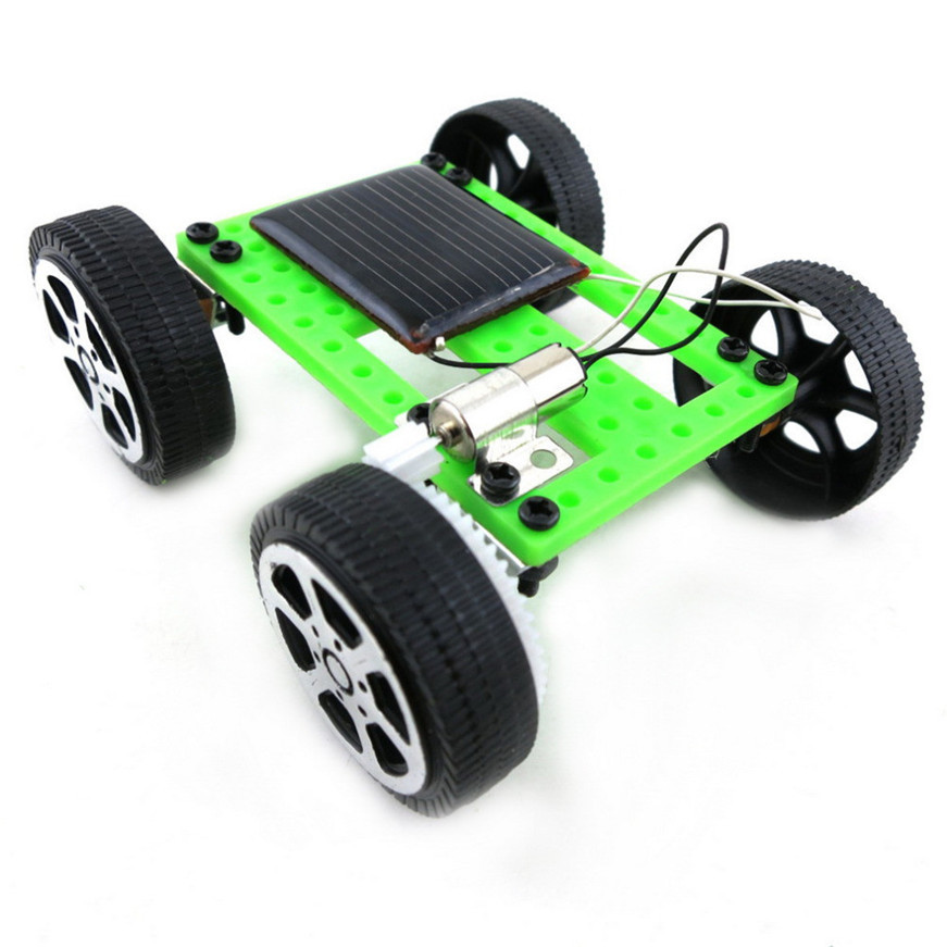 DIY робот с солнечной батареей