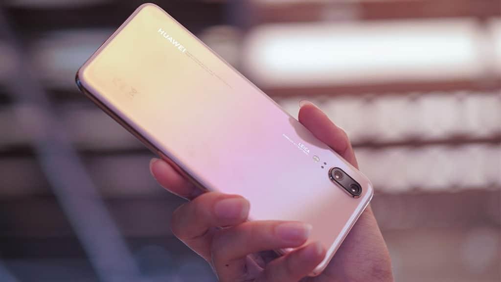 Huawei P20 Pink Gold
