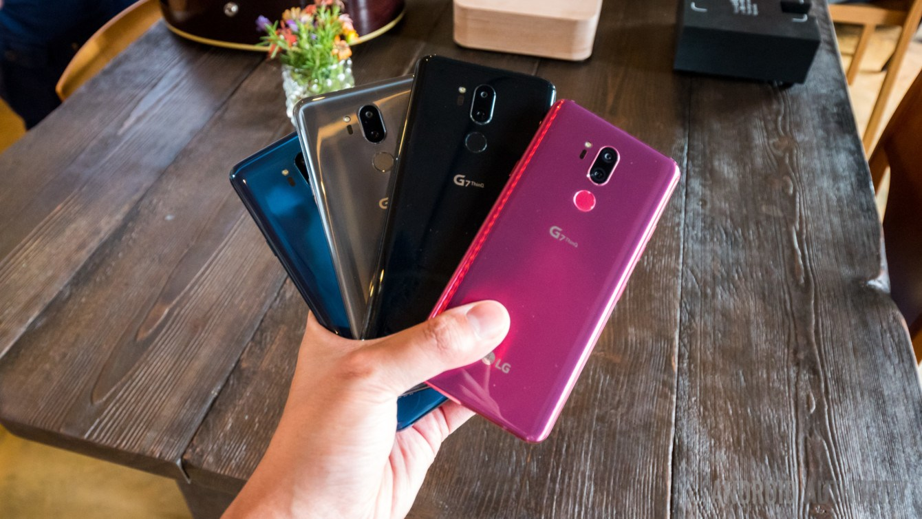 LG G7 ThinQ Raspberry Rose