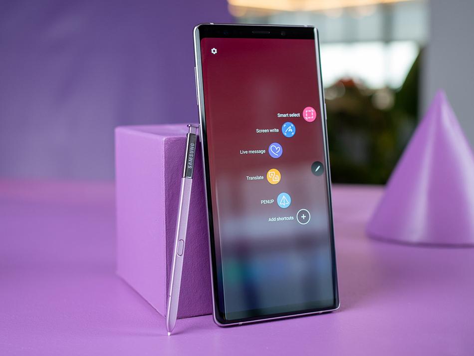 Samsung Galaxy Note 9 Purple