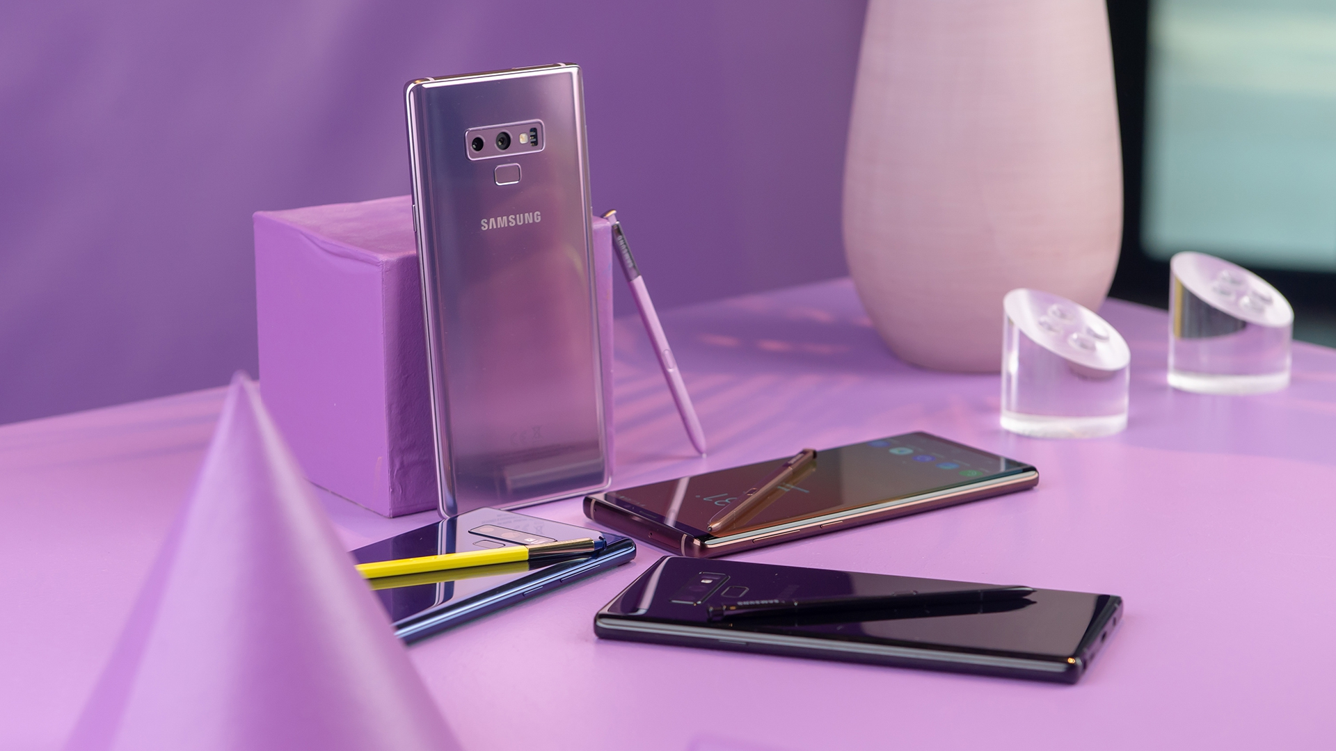 Samsung Galaxy Note 9 Purple