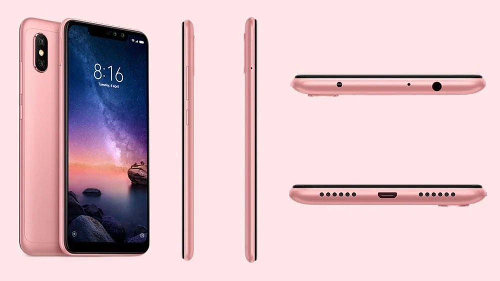 Xiaomi Redmi 6 Note Pro