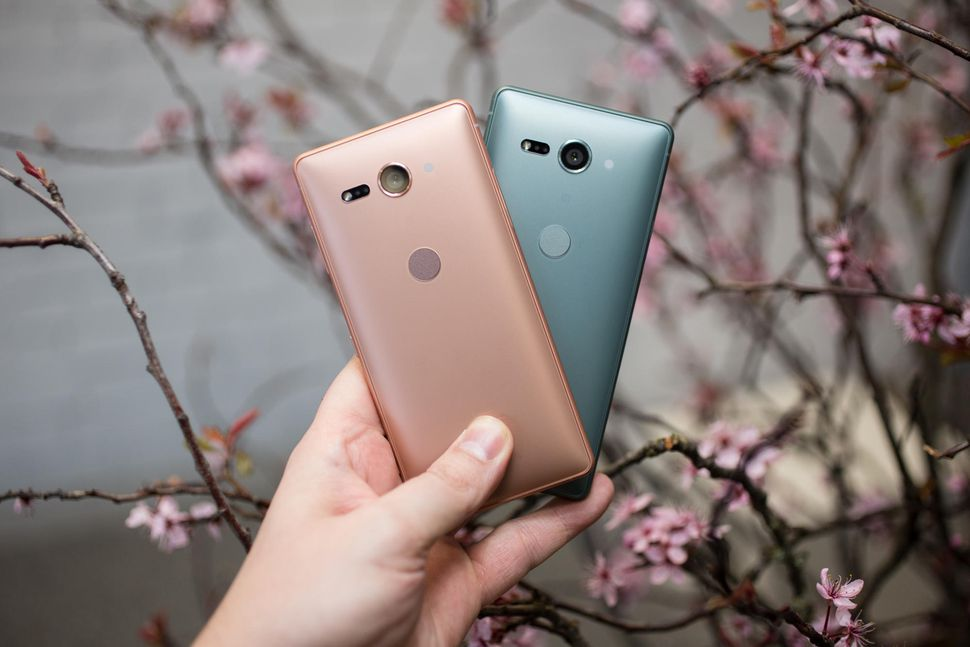 Xperia XZ2 Compact Coral Pink