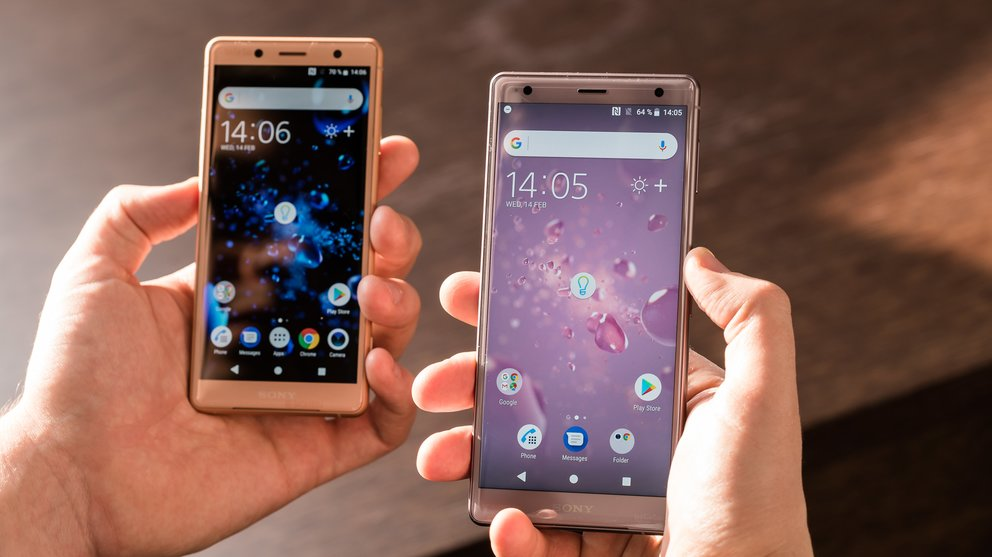 Sony Xperia XZ2 and XZ2 Compact Coral Pink