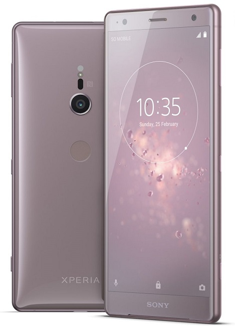 Xperia XZ2 Coral Pink