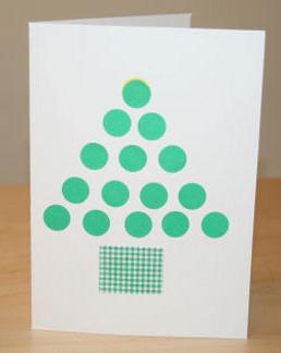 простые идеи новогодних открыток