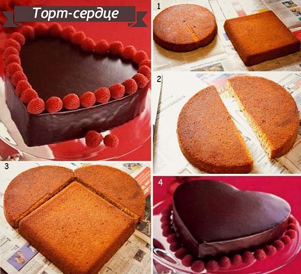 торт сладкая валентинка