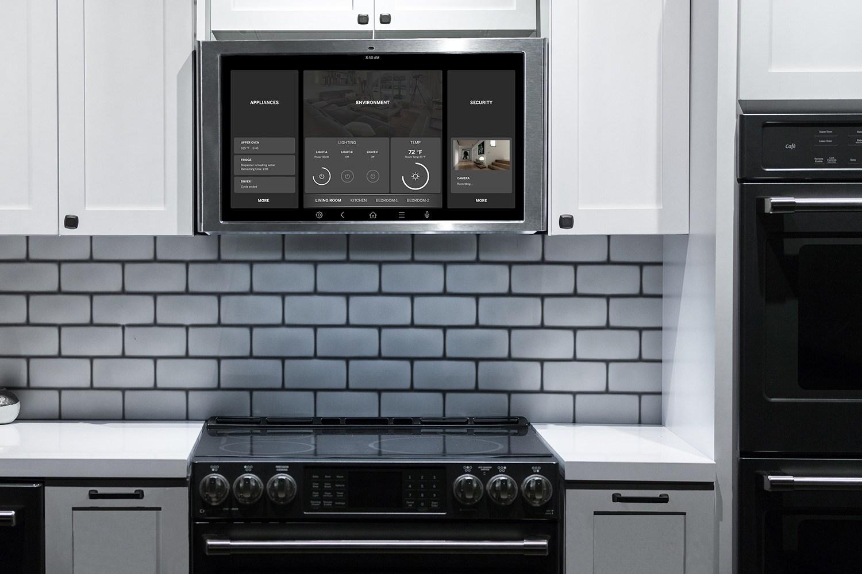 Умный дисплей для кухонной плиты