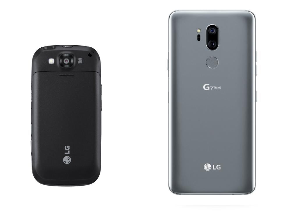 эволюция смартфонов LG