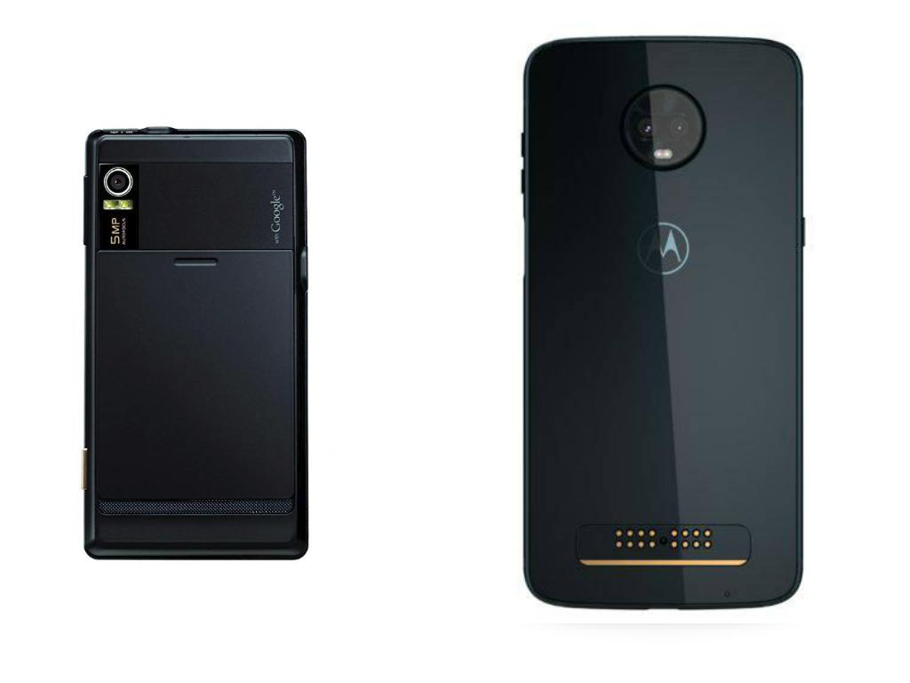эволюция смартфонов Motorola