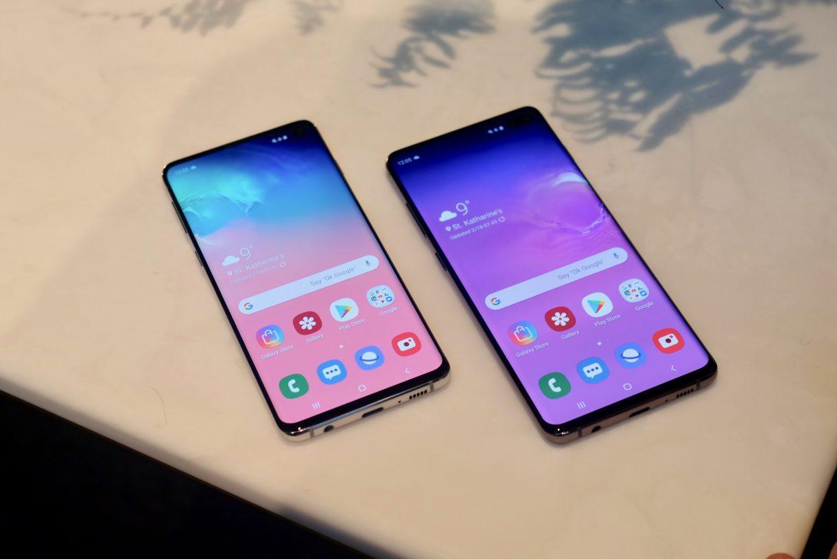 Samsung Galaxy S10 и Galaxy S10 Plus