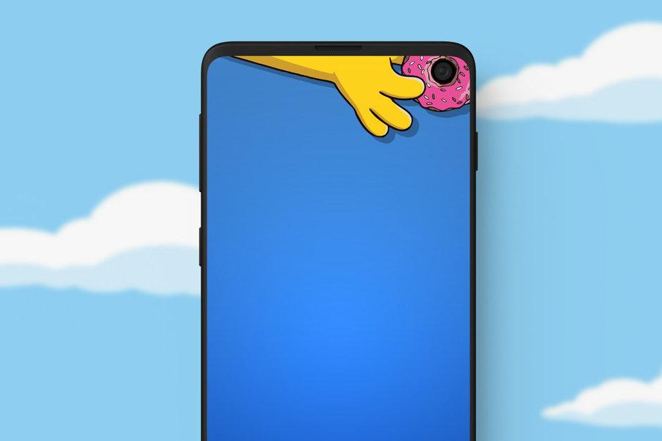Обои Samsung Galaxy S10