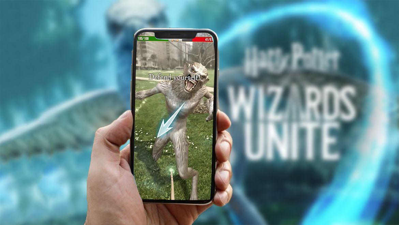 AR-игра для Android и iOS