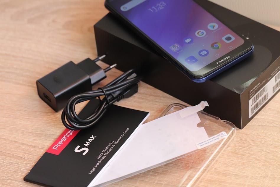 Prestigio S Max бюджетные смартфоны с каплевидным вырезом 2019