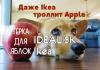 Терка iDEALISK Ikea. Даже Ikea троллит новый Apple Mac Pro 2019
