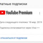 Как отменить подписку YouTube Premium?