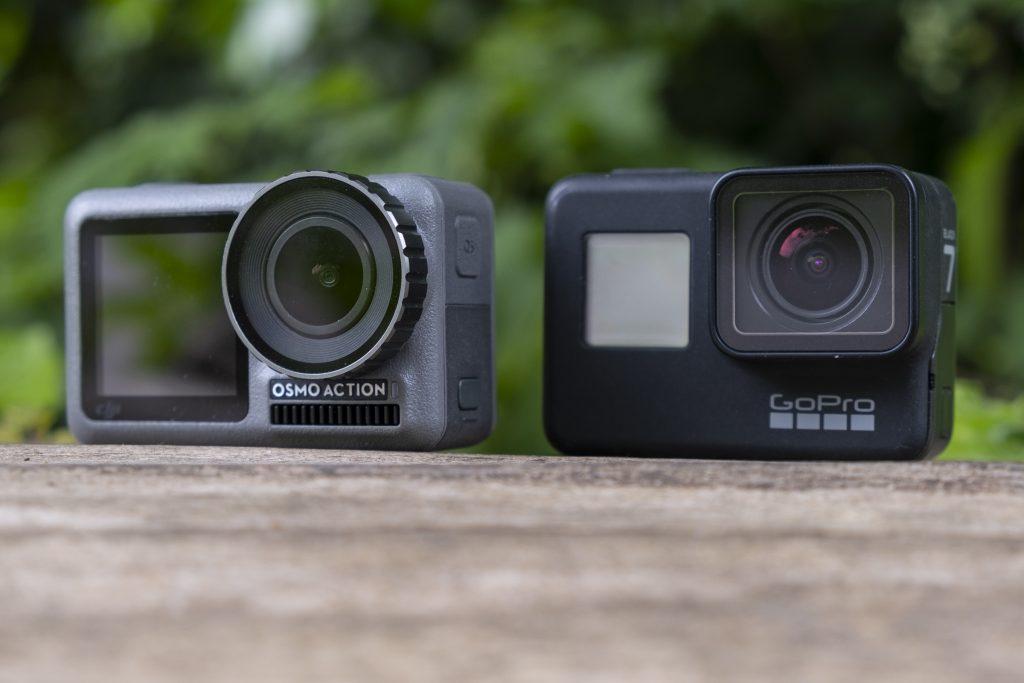 DJI Osmo Action и GoPro Hero 7 Black