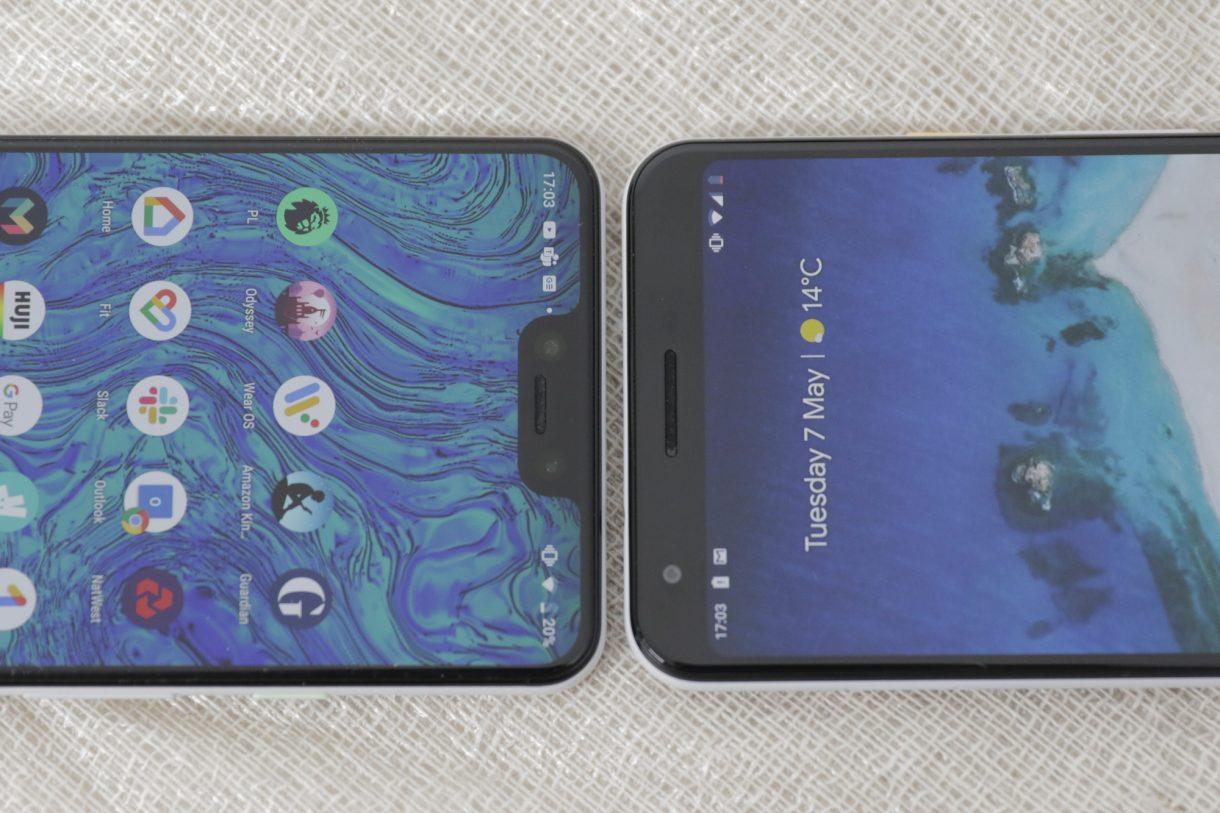 Pixel 3 XL и Pixel 3a XL
