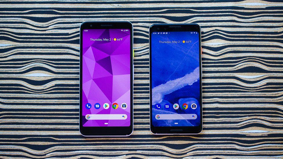 Google Pixel 3a и Pixel 3