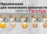приложения похожие на FaceApp