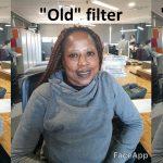 Фильтр FaceApp для женщин Cool Old