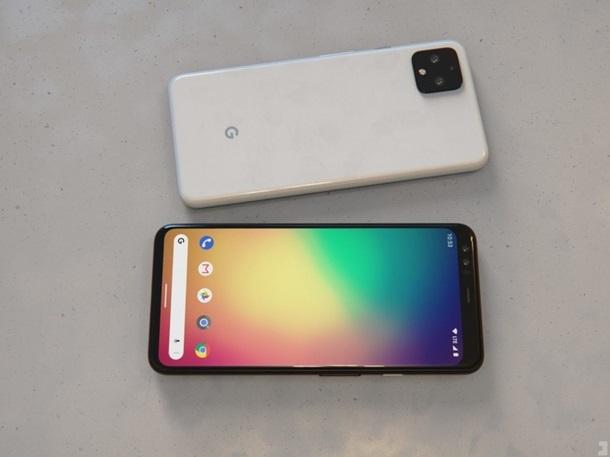 Первые официальные снимки Google Pixel 4