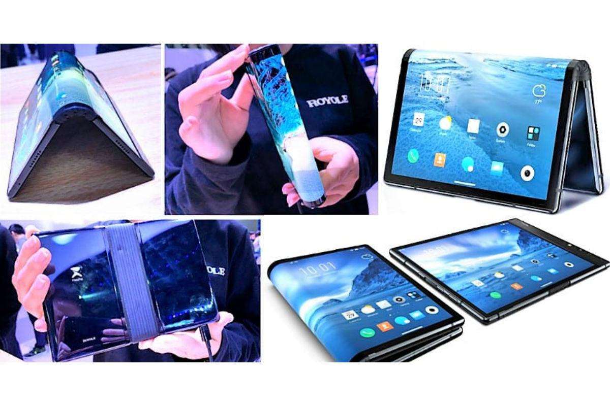 Первый гибкий смартфон FlexPai характеристики