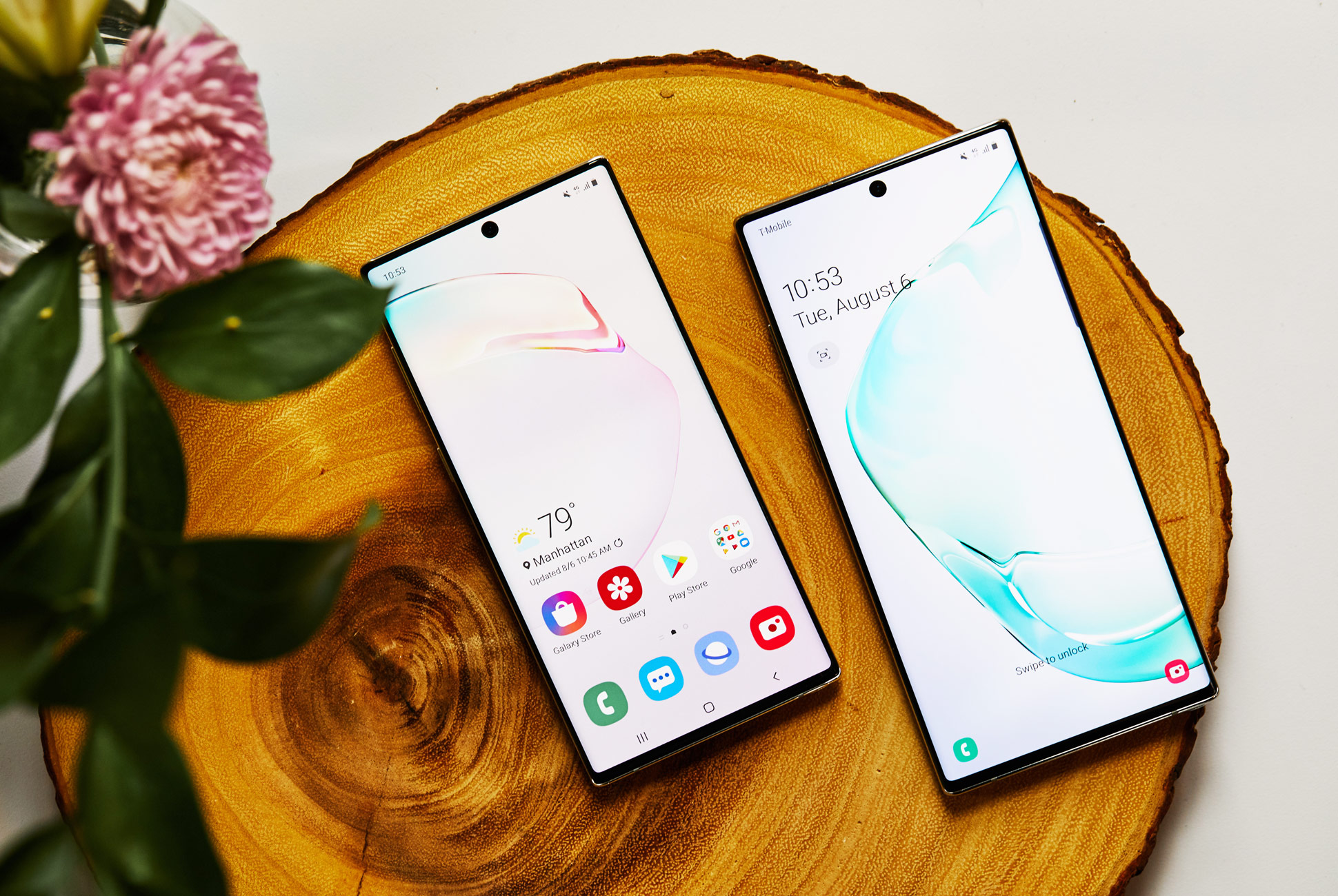 Samsung Galaxy Note10 и Note10+