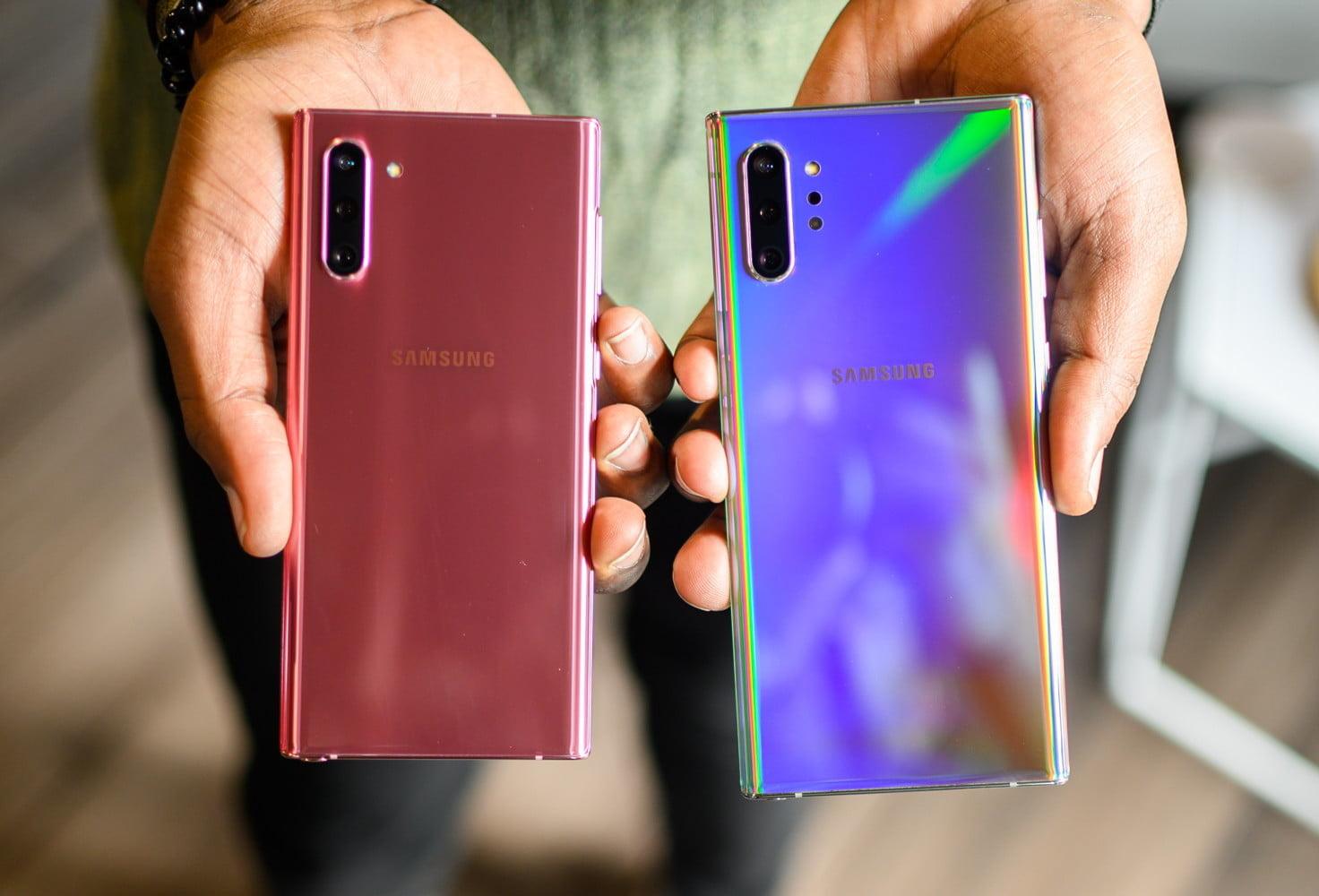 Samsung Galaxy Note 10 и Note 10 Plus