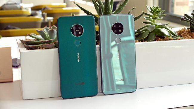 Nokia 7.2 и Nokia 6.2