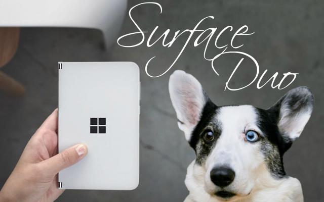 новый смартфон Microsoft на Android -Surface Duo
