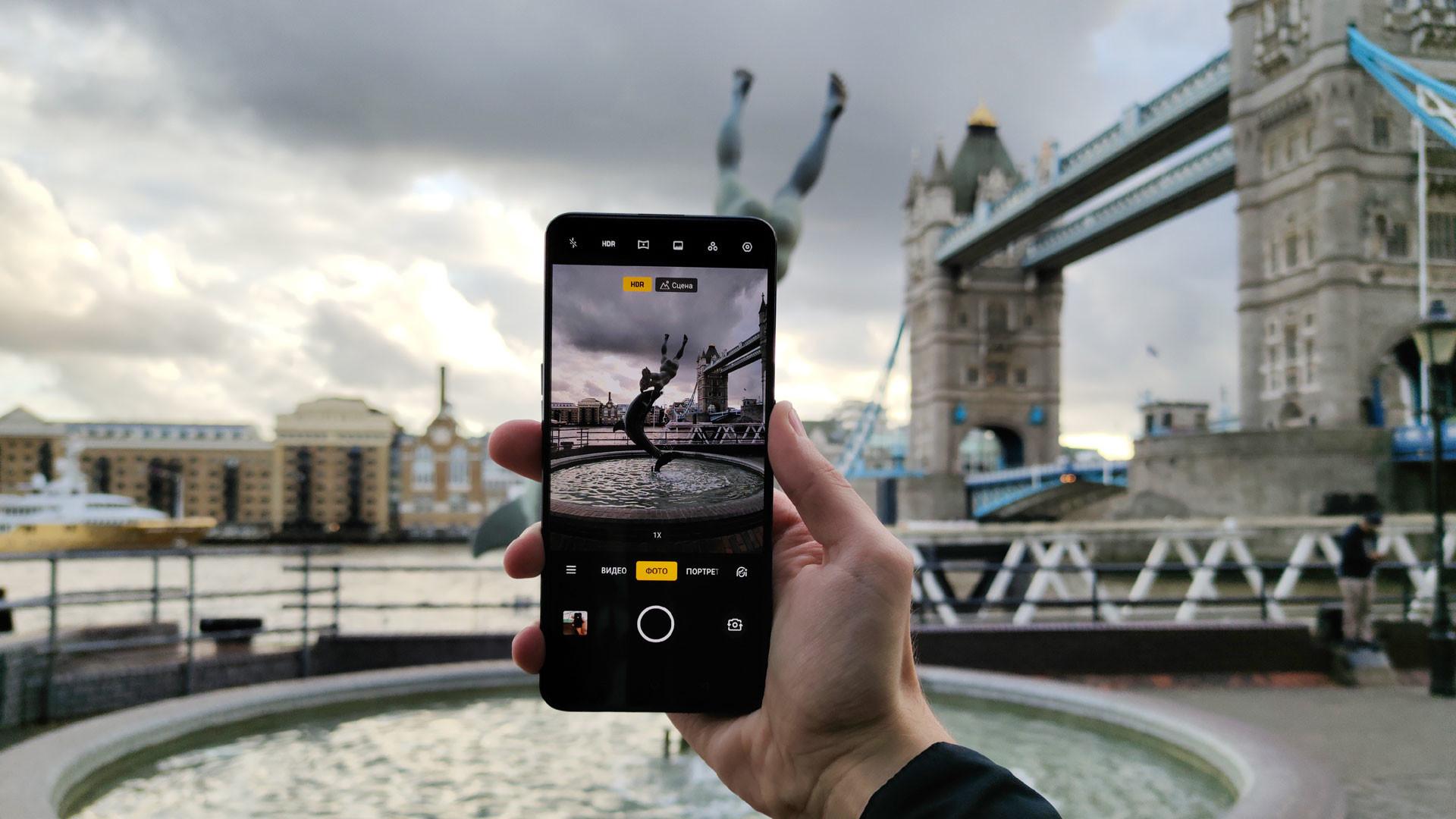 смартфоны с выдвижной камерой 2019
