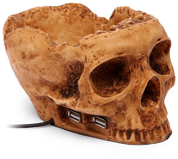 USB-хаб в виде черепа