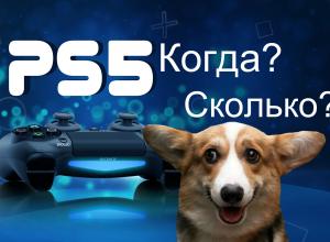официальная дата выхода PlayStation 5