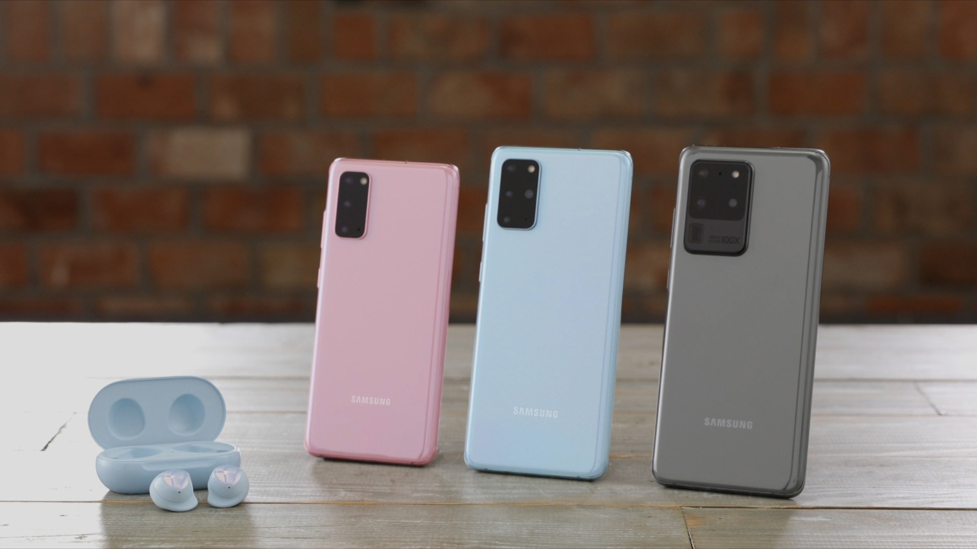 Galaxy S20 Ultra, Galaxy S20 Plus и Galaxy S20 Ultra